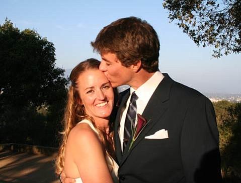 Sarah Wilkinson and Damon Taughe