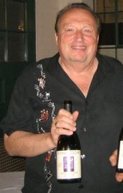 Wine Cask owner Bernard Rosenson in happier times.