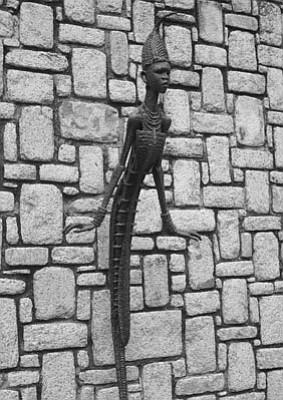 Sculpture by Ben Enwonwu.