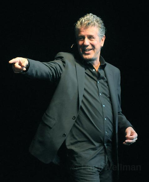 Anthony Bourdain at the Arlington Theatre