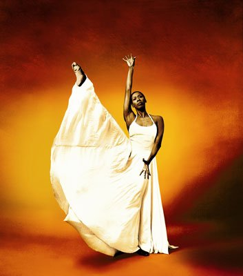 "Judith Jamison performing in Alvin Ailey's ""Revelations,"" 1976."