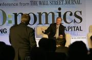 Michael Morris, head of American Electric Power, debates the potential of renewable energy with Google CEO Eric Schmidt.