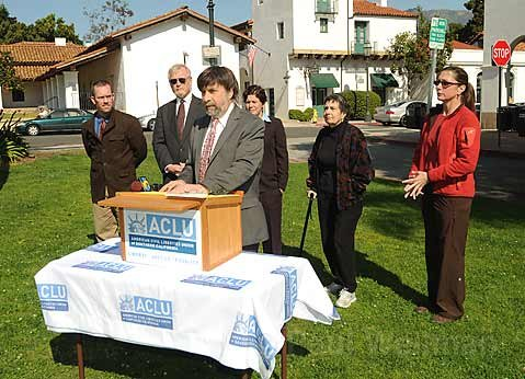 Mark Rosenbaum, Legal Director for ACLU of Southern California, discusses the lawsuit filed against the City of Santa Barbara for its ban against sleeping in public.
