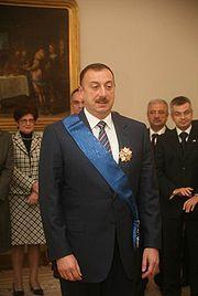 Azerbaijan&#39;s President Ilham Aliyev