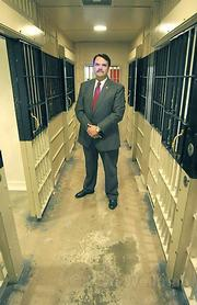 Sheriff Bill Brown in Santa Barbara County Jail