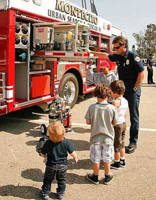 Montecito Fire Department Engineer Todd Edwards