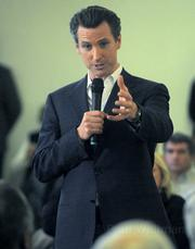 San Francisco Mayor Gavin Newsom