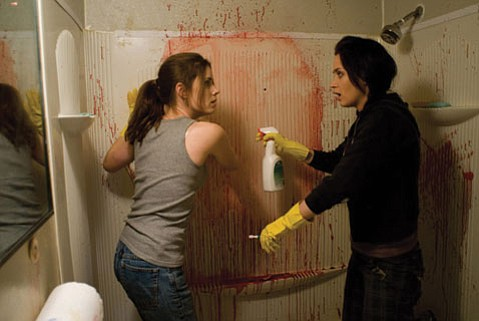 Dirty Job: Sisters Rose and Norah (Amy Adams, right, and Emily Blunt) are in the business of cleaning up messes in <em>Sunshine Cleaning</em>.