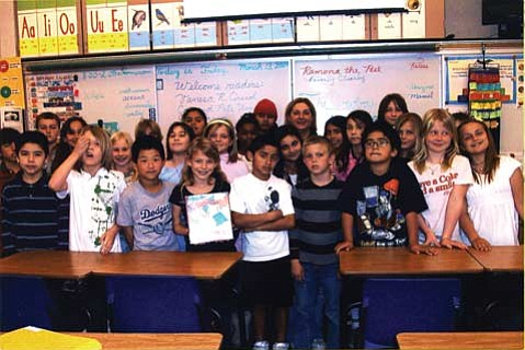 Every year, Roosevelt Elementary School holds a Read-a-Thon where parents and invited members of the community bring to the school one of their favorite books to read to the students.