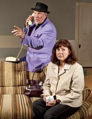 Fred Lehto and Leslie Gangl Howe in <em>La Terrasse</em>.