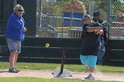Yankees Sandra Beltran gets a hit