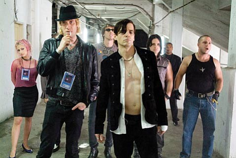 Rock stars and movie executives are the main characters in the inconsistent yet fascinating <em>The Informers</em>.