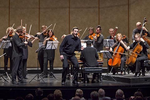 Andreas Scholl had the Lobero audience mesmerized with his extended set of Handel arias for countertenor.