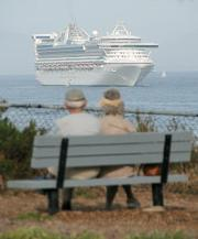 Star Princess visits Santa Barbara