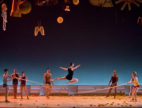 """Les 4 Saisons."" Presented by Ballet Preljocaj at the Granada, Tuesday April 28."