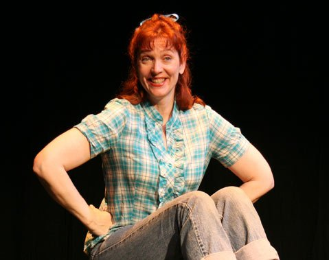 Clarinda Ross performs the premiere of her new one-woman show this weekend at the Rubicon.