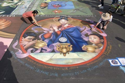 The 23rd Annual I Madonnari Italian Street Painting Festival will take place May 23-25.