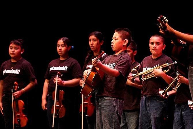 The Santa Barbara Bowl's Education Outreach program put on the Santa Barbara Youth Mariachis last week.