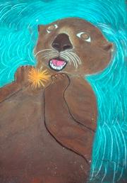 "Eva T's ""Otter"". At 10 years of age she is the promise of tomorrow."