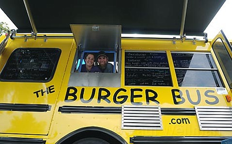 Burger builders Cheryl & Michael Gardner