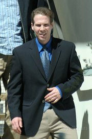 Jesse James Hollywood leaving the courthouse Friday June 5, 2009