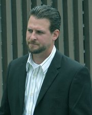 Ben Markowitz enters the courthouse Monday June 8, 2009
