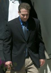 Jesse James Hollywood leaving the Santa Barbara courthouse Friday June 26, 2009