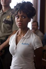 Nicole Beharie as Dee Roberts in <em>American Violet</em>.