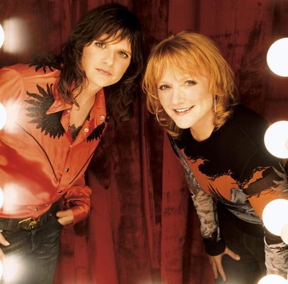 Indigo Girls Amy Ray (left) and Emily Saliers headline a show at the Granada Theatre this Tuesday night.