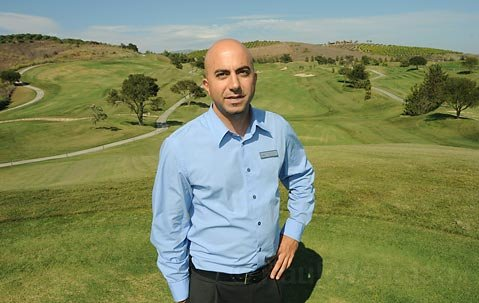 Glen Annie Golf Club course manager Rich Nahas.