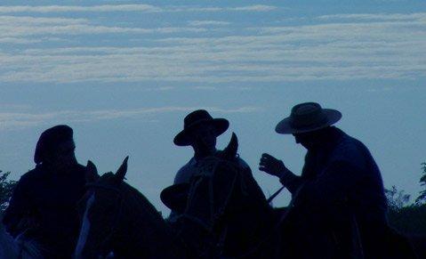 Gauchos on the range.