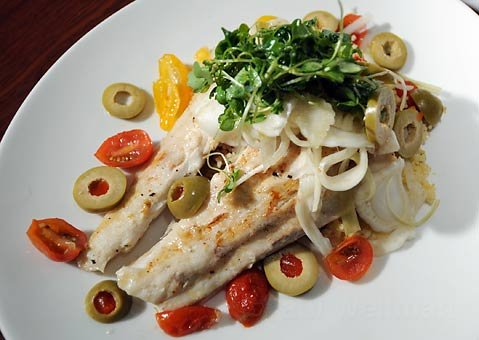 Enterprise Fish Company's white sea bass.