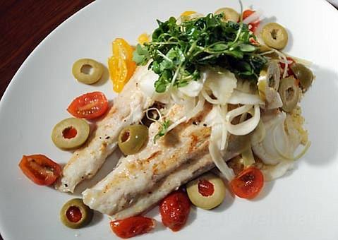 Enterprise Fish Company's white sea bass.
