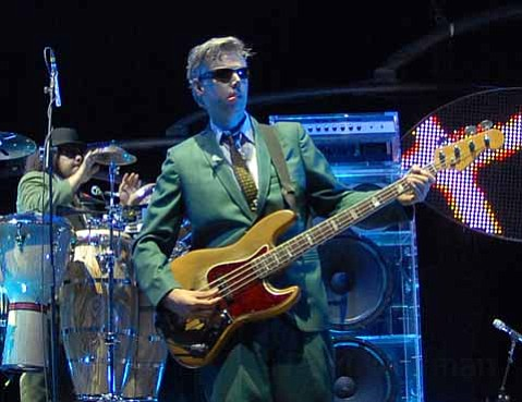 Adam Yauch of the Beastie Boys at the Santa Barbara Bowl in 2007