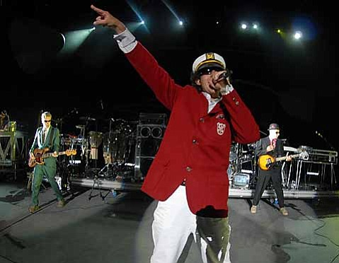 The Beastie Boys playing the Santa Barbara Bowl in 2007
