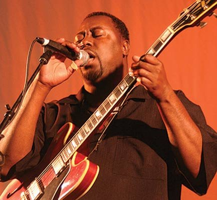 The Santa Barbara Blues Society brings Eddie Taylor Jr. to Warren Hall on Saturday.
