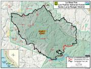 La Brea fire perimeter (large format)
