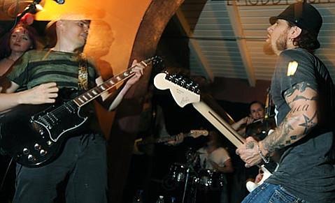 Billy Corgan and Dave Navarro