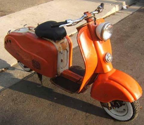 The acquisition of this classic scooter was no easy feat for Reyes, who extensively researched scooters in California before making his purchase.