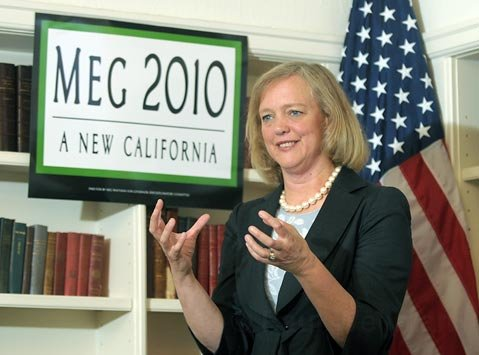 Meg Whitman Speaks at the University Club in Santa Barbara Sept. 1, 2009