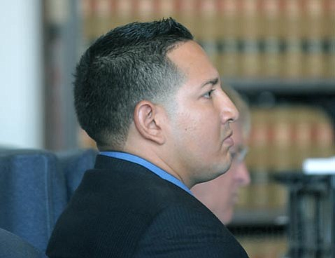 Roland Ygelsias during his sentencing Sept. 4, 2009