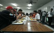 The Rescue Mission dining hall