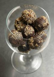 Jessica Foster's truffles.