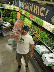 Produce Coordinator Jeff Biddle