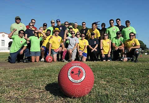 <strong>Kickin' it:</strong>  For the first time in our city's history, Santa Barbara will be represented by three teams in the World Adult Kickball Association Founders Cup, held this upcoming weekend in Las Vegas.