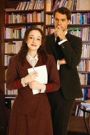 Robert Adelman Hancock and Megan McGinnis star in the World Premiere Musical <em>Daddy Long Legs</em> at Rubicon Theatre.