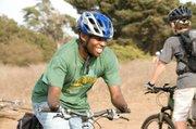 Frederick mountain biking at the Douglas Family Preserve.