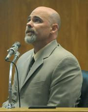 Steven Neff on the stand