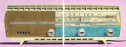 """Robert Townsend's """"AM/FM diptych"""""""