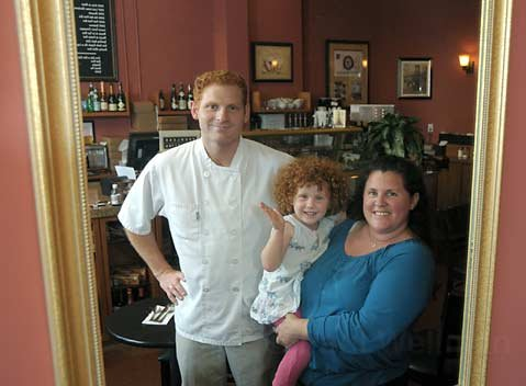 Renaud's Patisserie & Bistro is expanding from the original Loreto Plaza outpost, and Renaud Gonthier, daughter Morgan, and wife Nicole (from left) couldn't be happier.